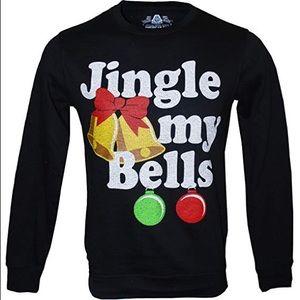 American Rag Jingle My Bells Pullover Medium NWT